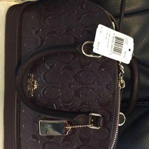 NWT Coach purse/wallet/2 charms